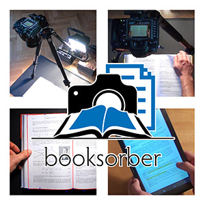 Overview of book scanning with booksorber